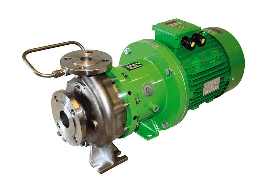 Hermetic magnetic drive pumps